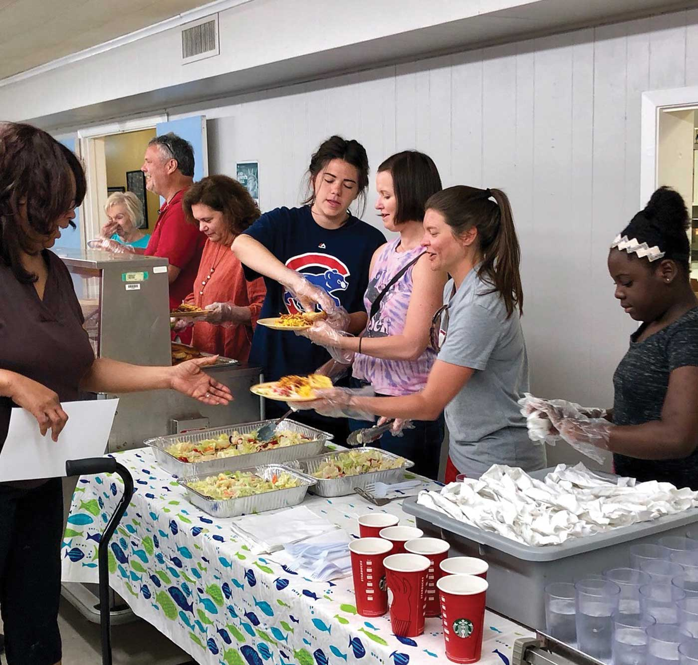 Serving at Common Ground